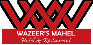 Wazeer's Mahel Hotel & Restaurant Logo
